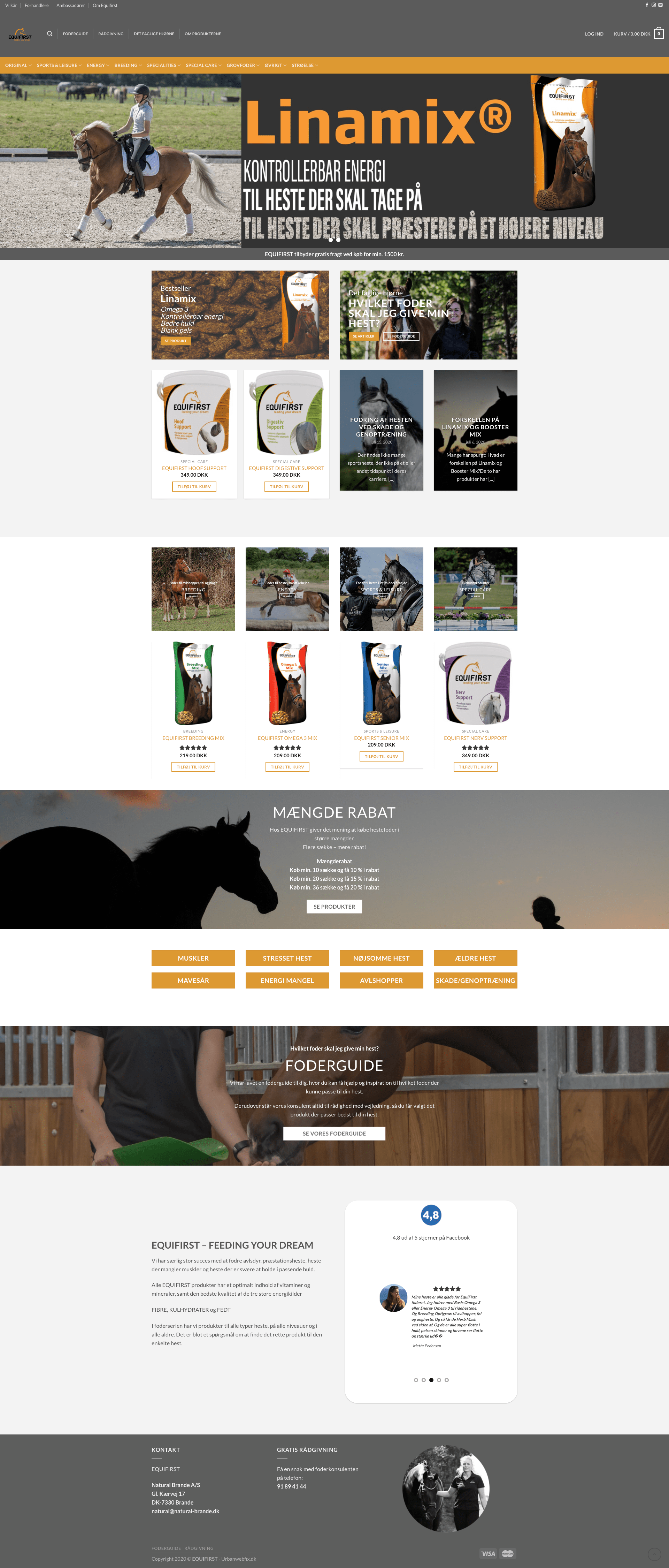 equifirst wp WooCommerce shop